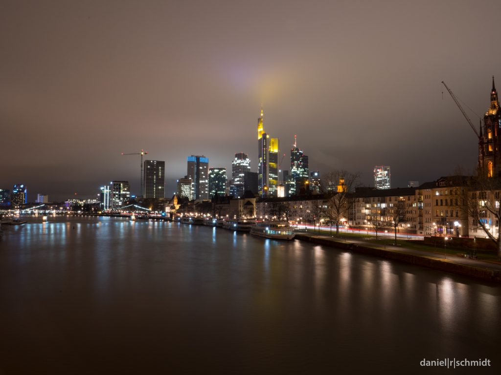 Frankfurt und die Lichtverschmutzung